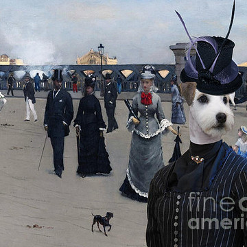 Dog Art Breeds P Collection