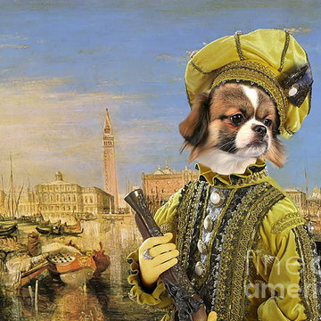 Dog Art Breeds T and V Collection