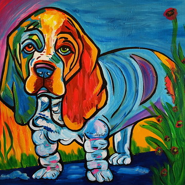 Dogs Pop Art Collection