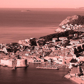 Dubrovnik Black and White Photography