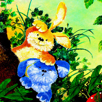 Easter Bunny Art Collection