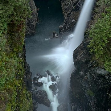 Elk Falls Provincial Park - Vancouver Island - British Columbia - Canada Collection