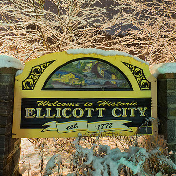 Ellicott City MD - One Snowy Evening Collection