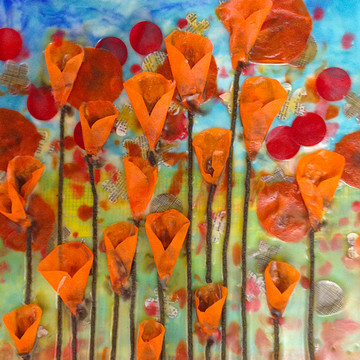 Encaustic Paintings by Amy Collection