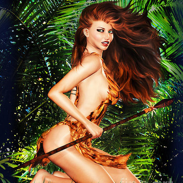 Exotic Pin-Up Girls Collection