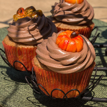 Fall and Halloween Cupcakes Collection