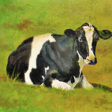 Farm Animal Paintings and Drawings Collection