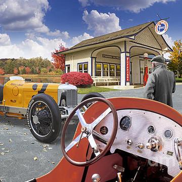 Filling Station & Automotive Landscapes Collection