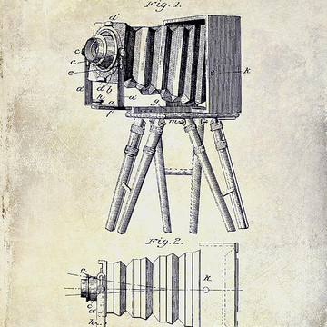 Film and Camera Patent Art Collection