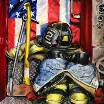 FIRE DEPARTMENT-American Flag Collection