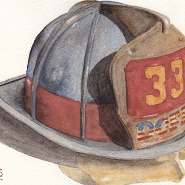 Fire Helmet Paintings