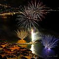 FIREWORKS in LAIGUEGLIA - FUOCHI ARTIFICIALI a LAIGUEGLIA Collection