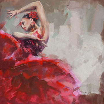 Flamenco Dancers Collection