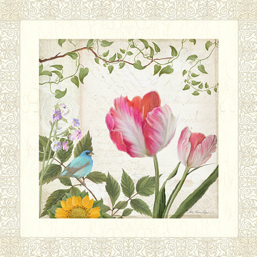Florals - Vintage Style New Art Collection