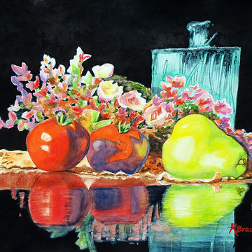 Food and Beverage Paintings Collection