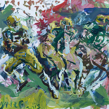 Football Paintings Collection