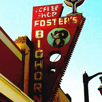 Fosters Bighorn Cafe - Rio Vista California Collection