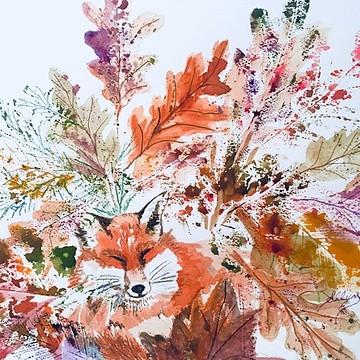 Fox Paintings Collection