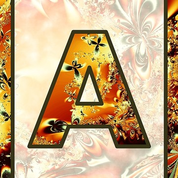 Fractal - Alphabet Collection