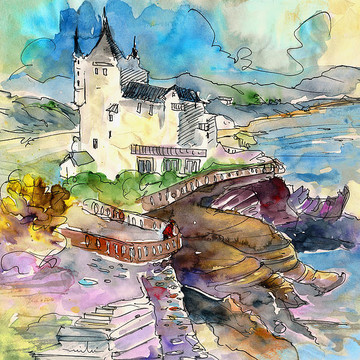 France Sketches and paintings Collection