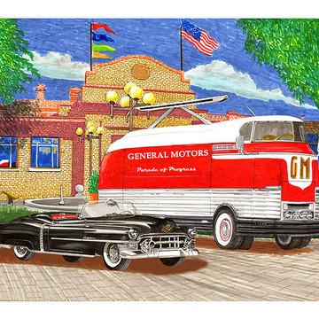 G M Transportation art Collection