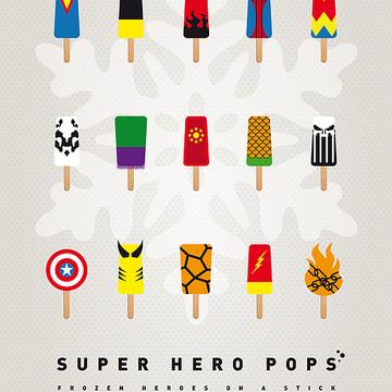 Geek Art - Superhero Themed Collection