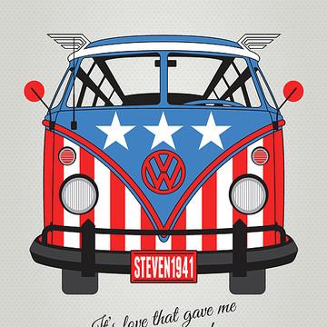 Geek Art - SUPERHERO VW T1s Collection