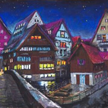 Germany Cityscape and Landscape paintings Collection