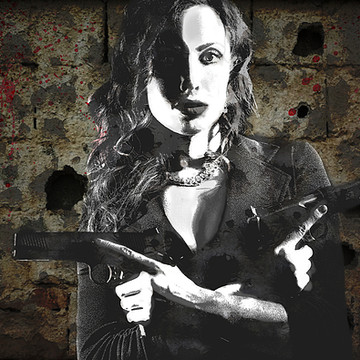 Girls with Guns by David Bazabal Studios Collection