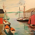 Gloucester and Cape Ann Harbor Scenes and Boats Collection