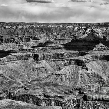 Grand Canyon Black White Collection