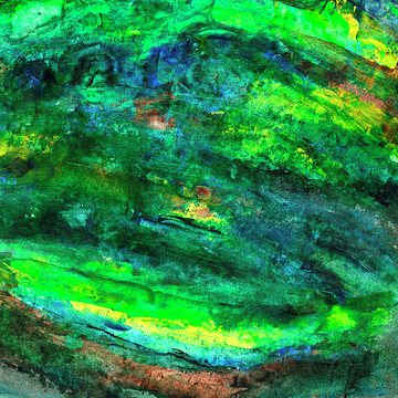 Green Abstract Art Collection