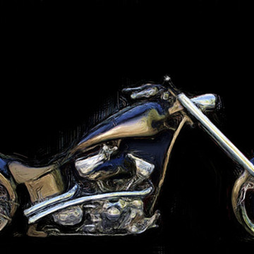 Harley Motorcycle Art Collection