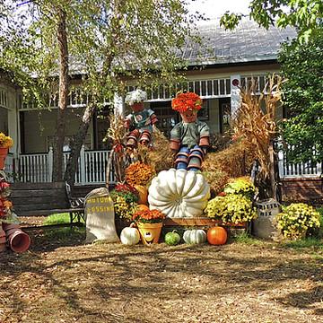 Harvest Scenes or Halloween Collection