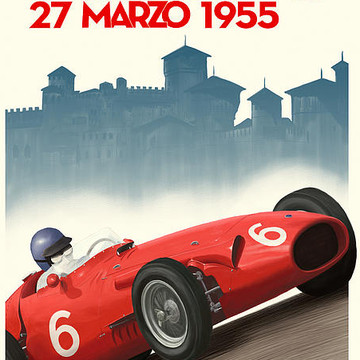 Historic Racing Posters by John Bradley