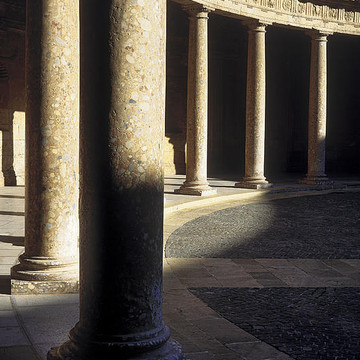 Historical columns in monuments Collection