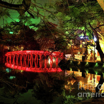 Hoan Kiem Lake   Hanoi  Vietnam Collection