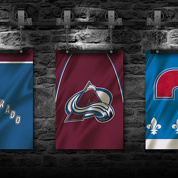Hockey Team Flags Collection