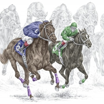 Horse Racing Art Collection