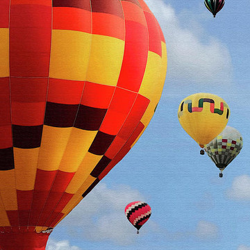 Hot Air Balloons Collection