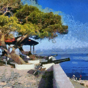 Hydra island paintings Collection