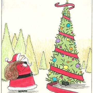 Illustrated Christmas Cards Collection