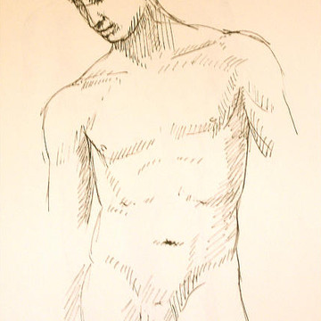 Ink figure drawings Collection
