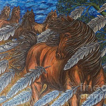 Interpretive Equine Art Collection