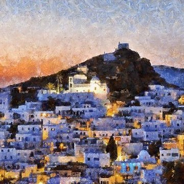 Ios island paintings Collection