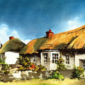 IRISH Traditional COTTAGES Collection