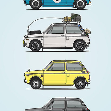 Japanese Cars Collection