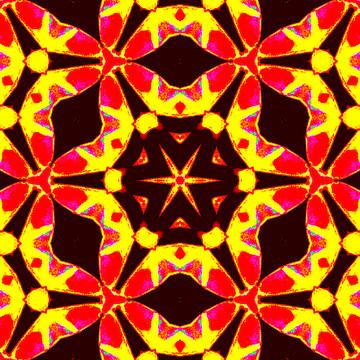 Kaleidoscope Abstract