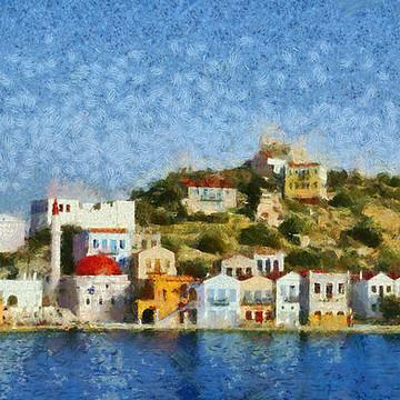 Kastellorizo island paintings Collection