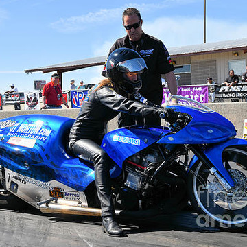 Kim Morrell Pro-Extreme Motorcycle Dragracing Collection
